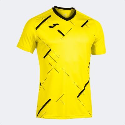 Tricouri Tiger Iii cu Maneca Scurta Yellow Black Joma