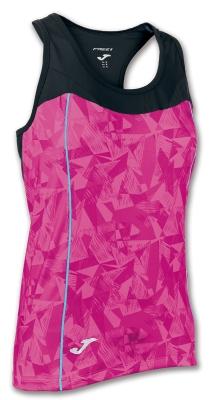Tricouri Venus Pink-black Sleeveless Joma