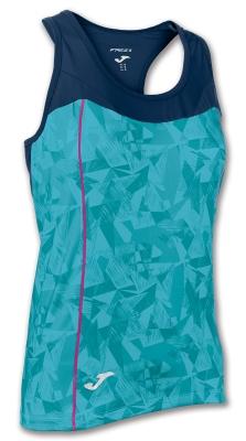 Tricouri Venus Turquoise-navy Sleeveless Joma