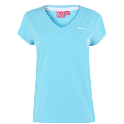 Tricouri LA Gear V Neck pentru Femei