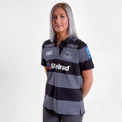 ISC Newcastle Falcons 18/19 Home Rugby Jersey pentru Femei