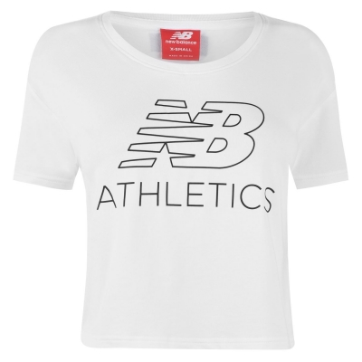Tricouri New Balance Crop pentru Femei