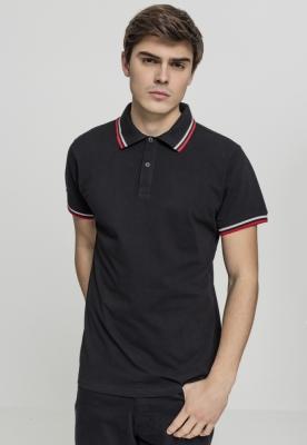 Double Stripe Poloshirt Urban Classics