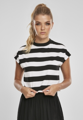 Tricouri Stripe Short pentru Femei Urban Classics