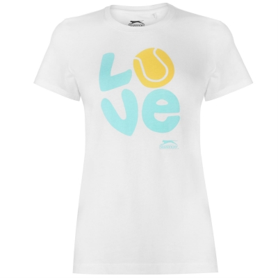 Tricouri Slazenger Graphic pentru Femei