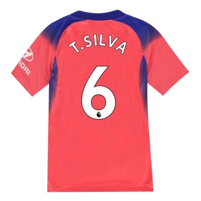 Tricou Nike Chelsea Thiago Silva Third 2020 2021 Junior