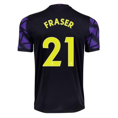 Tricou Puma Newcastle United Ryan Fraser Third 2020 2021 Junior