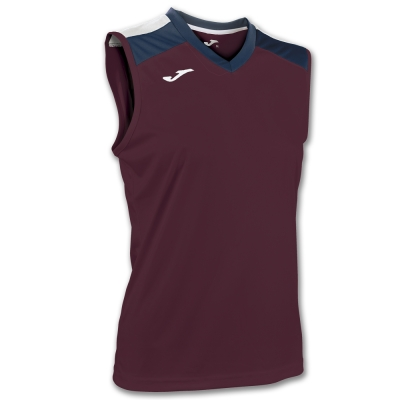 Tricou Volley Burgundy-navy Sleeveless W. Joma