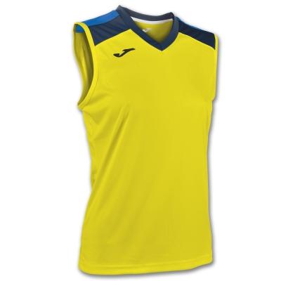 Tricou Volley Yellow-navy Sleeveless W. Joma