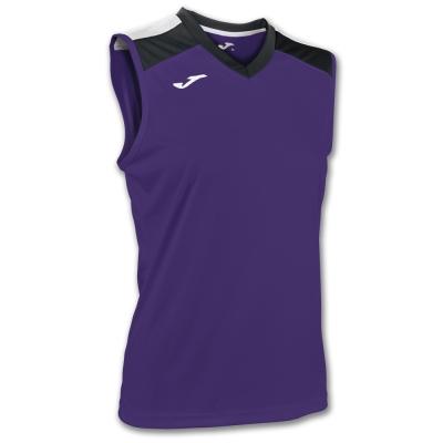 Tricou Volley Purple-black Sleeveless W. Joma