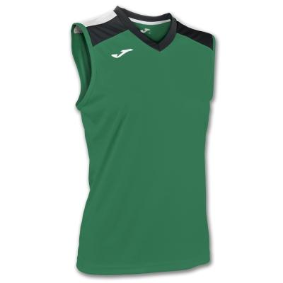 Tricou Volley Green-black Sleeveless W. Joma