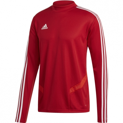 Men's adidas Tiro 19 Training Top red D95920 adidas teamwear