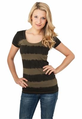 Tricouri Dip Dye Stripe pentru Femei Urban Classics