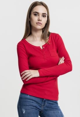 Tricouri Rib Pocket L/S pentru Femei Urban Classics