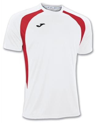 Tricouri Champion Iii White-red S/s Joma
