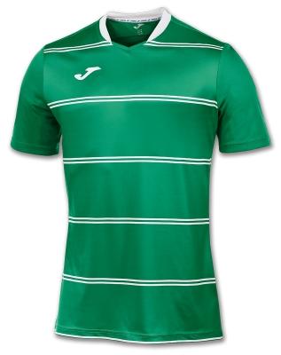 Tricouri Standard Green Stripes S/s Joma