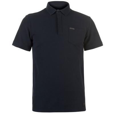 Tricouri Polo Firetrap Blackseal Textured Collar