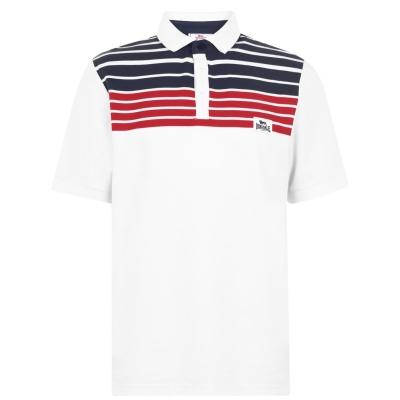 Tricouri Polo Lonsdale Yarn Dye Stripe pentru Barbati