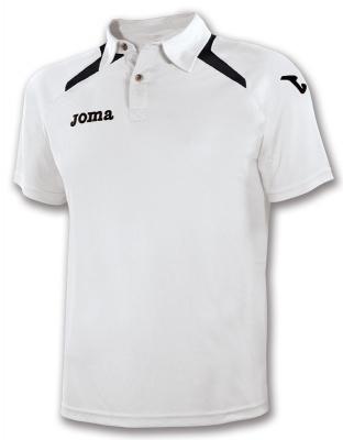 Polo Champion Ii White-black Joma
