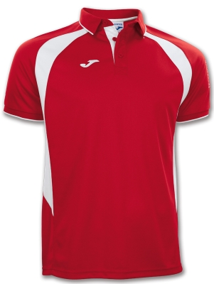Polo Champion Iii Red-white S/s Joma