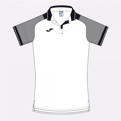 Essential Ii Polo White-black S/s Joma
