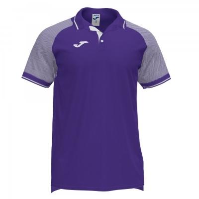 Essential Ii Polo Purple-white S/s Joma