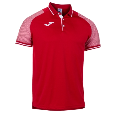 Essential Ii Polo Red-white S/s Joma