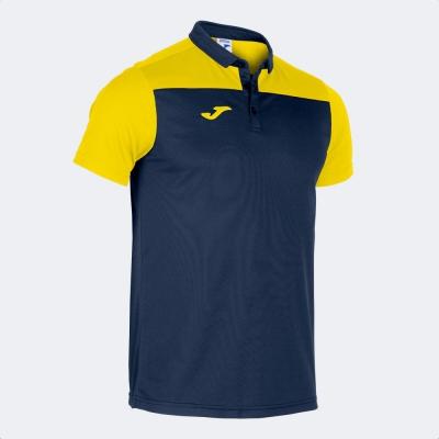 Tricouri Polo Combi Navy-yellow S/s Joma