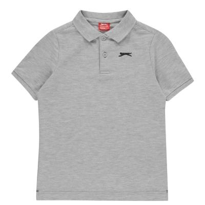 Tricouri Polo Slazenger Plain de baieti Junior