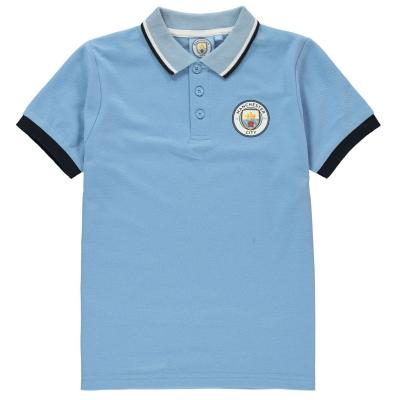 Tricouri Polo Source Lab Manchester City FC de baieti Junior