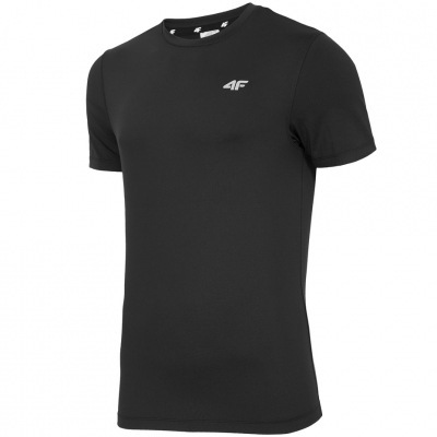 Tricouri 4F Men's Fitness H4Z18 TSMF001 deep black