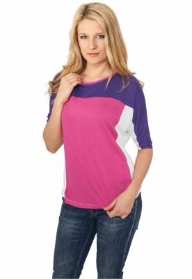 Tricouri 3-tone 3/4 Sleeve pentru Femei Urban Classics