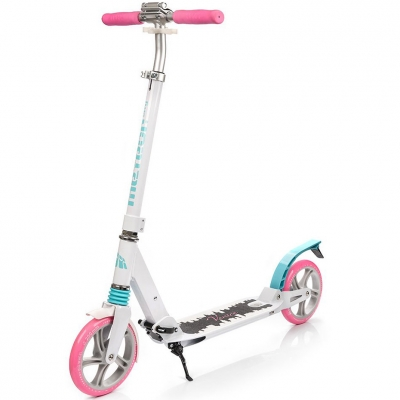 Scooter Meteor City Venice white-pink-blue-black 22543