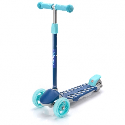 Meteor Sloper three-wheeled scooter navy blue and blue 22625