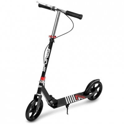 Spokey Ayas scooter 200mm BR H black and red 929391