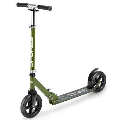 Spokey Tunk scooter black and green 200 927051