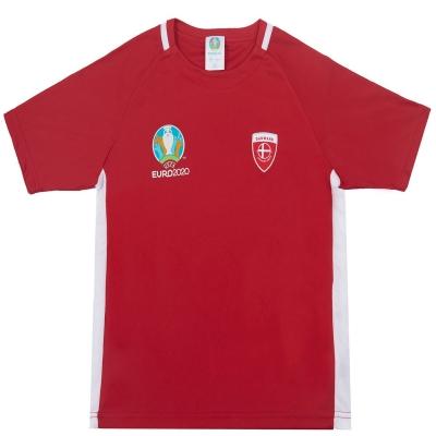 Tricouri UEFA Euro 2020 Denmark Polyester Junior