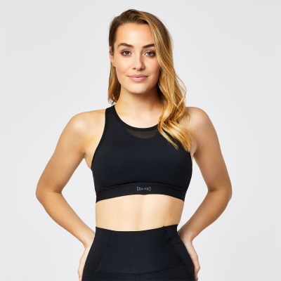 USA Pro Racer Back Sports Bra