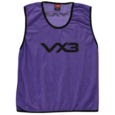 VX-3 Hi Viz Mesh Training Bibs Junior