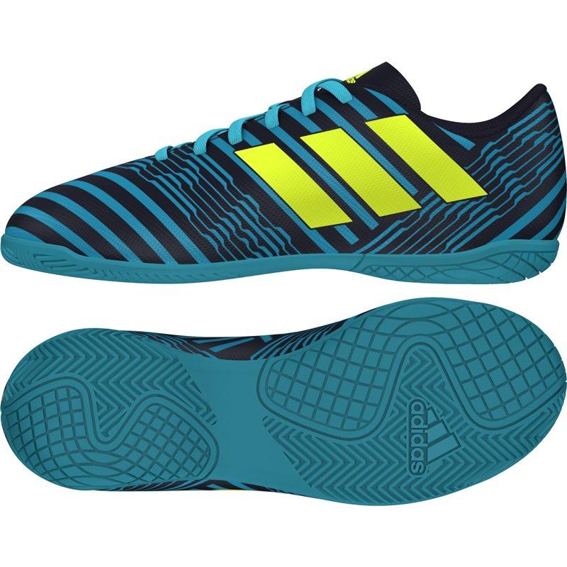 Ghete fotbal sala adidas Nemeziz 17.4 IN Junior S82465 baietei