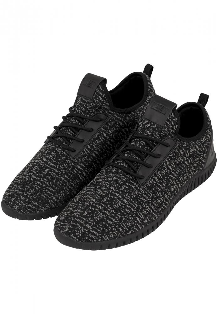 Adidasi Light Runner tricot negru-gri Urban Classics