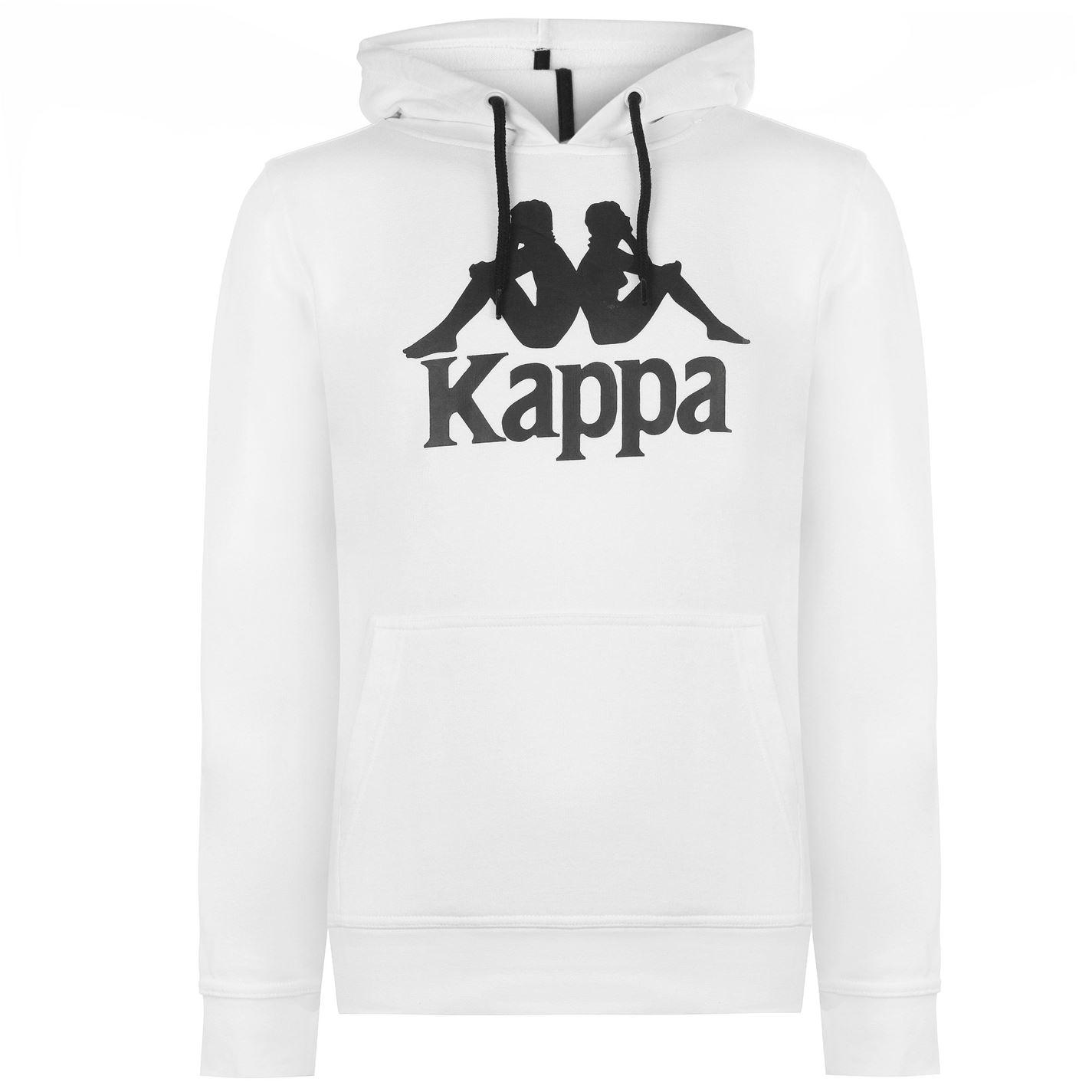 cumpara popular online de vânzare nouă Hanorac-Kappa-Zimim-alb-negru-Hanorace-pentru-barbati - Bluze hanorace -  Barbati - MagazinFotbal.ro