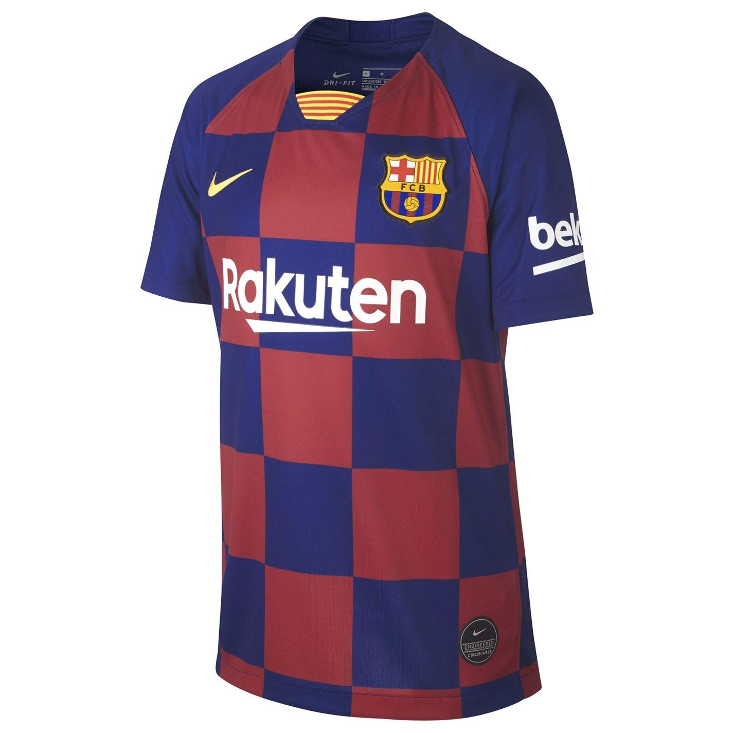 Tricou Acasa Nike Barcelona 2019 2020 Junior