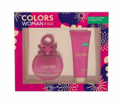 Set Colors Pink - Benetton - Apa de toaleta