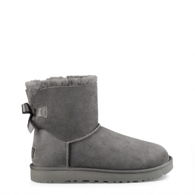Ghete scurte Ugg MINI-BAILEY- BOW-II_1016501 Gri