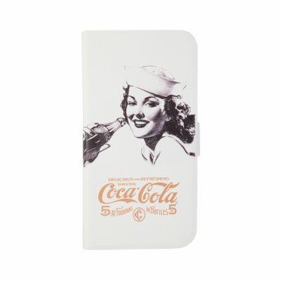 Huse telefon Coca Cola Cover Alb