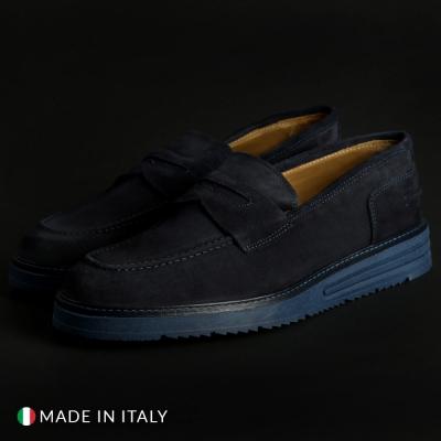 Pantofi sport Duca Di Morrone 1000_BONUCCI-CAM Albastru