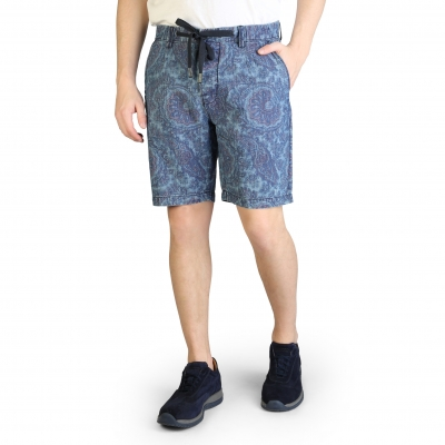 Pantaloni scurti Yes Zee P796_UR00 Albastru