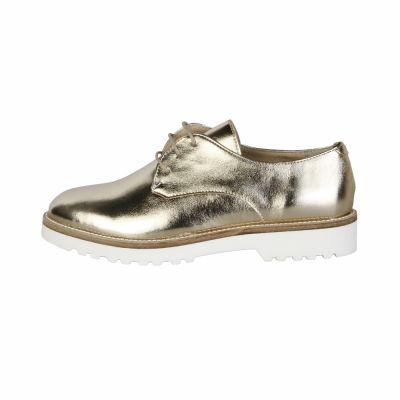 Pantofi siret Made In Italia NINA Galben