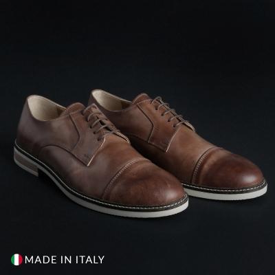 Pantofi siret Duca Di Morrone 605_PELLE Maro
